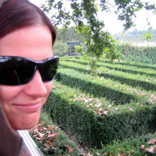 Bludiska v Schonbrunne