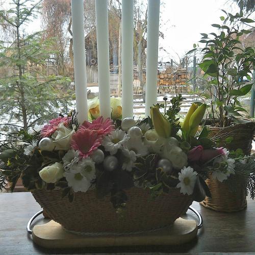 na vianočný stol...