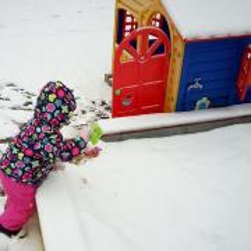Sníh nesníh, já si hraju na písku!