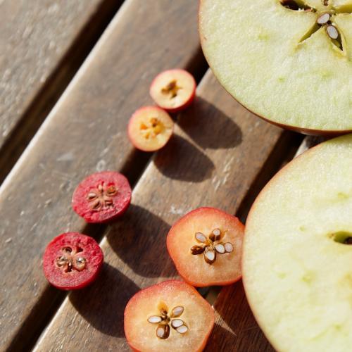 aj malé jablko je stále jablko :)
